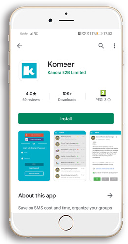 Download the Komeer App